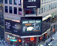 ARRL field day sur Times Square