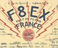 REF 160 m - Trophée F8EX