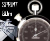 Sprint 80M CW - Jeudi 13 Octobre 2011